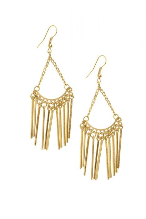 Chains & Sticks Drop Earrings | Nickel Free Hypoallergenic Earrings
