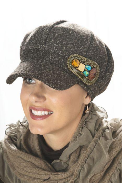 Cheyenne Newsboy Hat