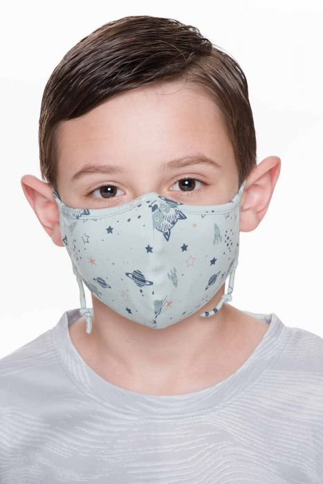 Children's Organic Cotton Medical & Surgical Face Mask | Coronavirus Protective Face Mask Cover