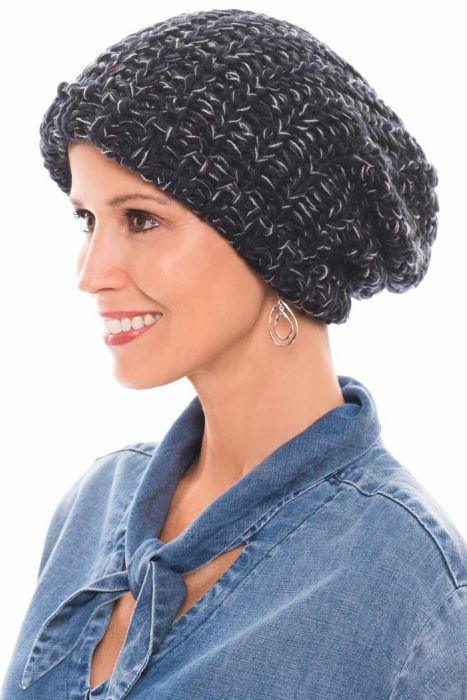 Chunky Knit Slouchy Beanie | Fall & Winter Beanie Caps