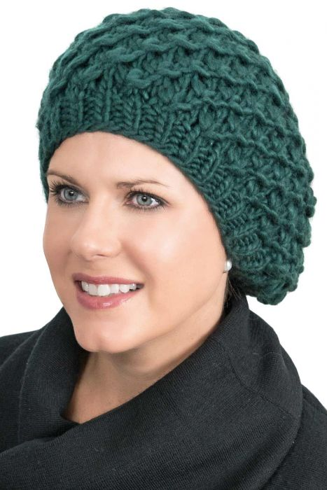 Chunky Slouchy Beanie Beret for Women