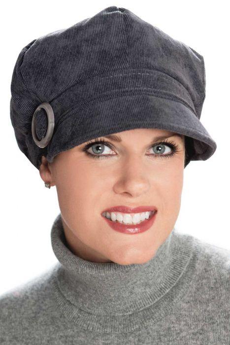 Clarice Corduroy Newsboy Hat |
