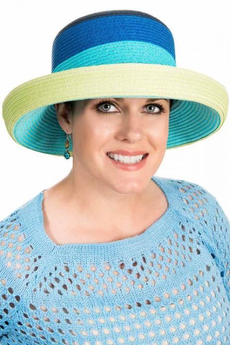 Cara Colorblock Sun Hat
