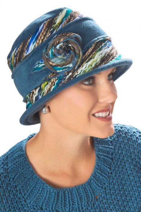 Tweed Kaleidoscope Hat