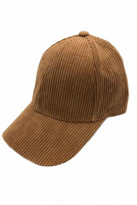 Basic Corduroy Baseball Hat for Fall & Winter