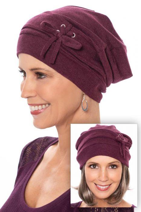 Corset Slouchy Hat | 100% Organic Cotton Slouchy Snood Beanie Cap