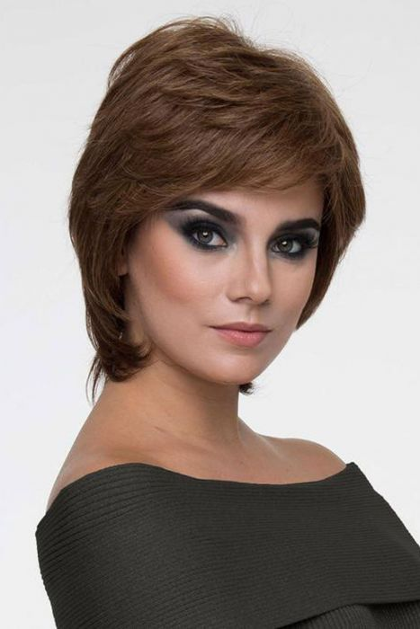 Coti by Envy Wigs - Human Hair/Heat Friendly Synthetic Blend, Hands Tied, Lace Front, Monofilament Top Wig