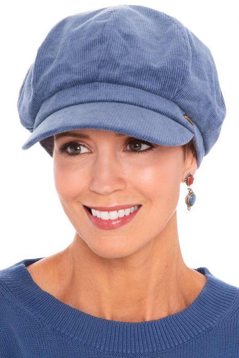 Cotton Corduroy Newsboy Cap | Newsboy Caps for Women