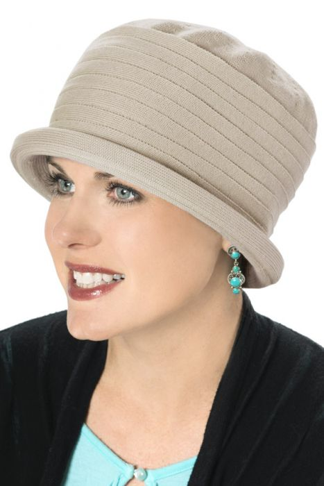 Cotton Overlap Cloche Hat