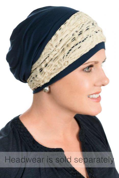 Crocheted Bendi Bandeau - Headwear Accessory & Headcovering