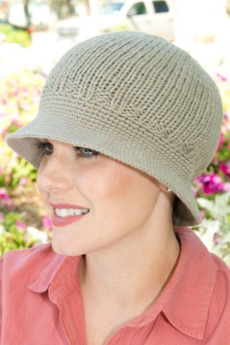 Hand Crocheted Bucket Hat - 100% Cotton