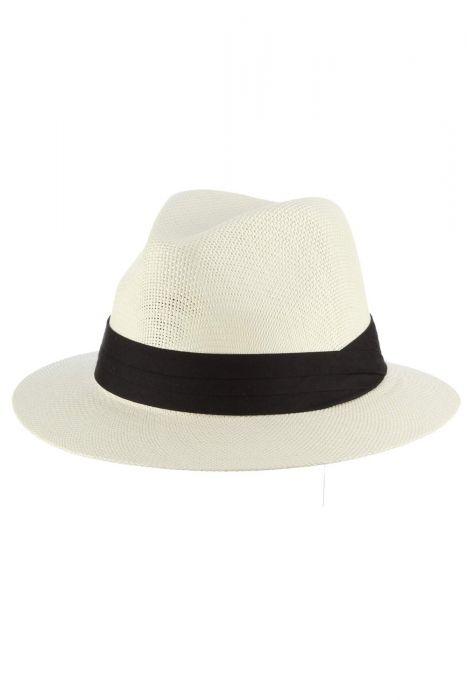 Ivory Trapper Fedora   Stylish Hats for Men