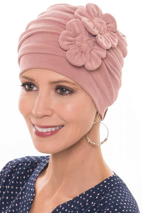 Cardani Buttery Soft Cupro Flapper Turban