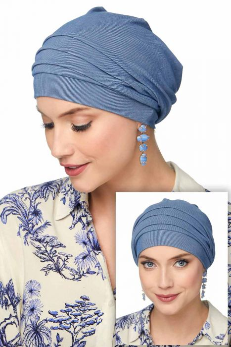 Slouchy Snood Hat | Cardani Buttery Soft Cupro Headcovering