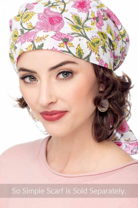 Cardani Curly Hair Halo - Hairpiece for Hats I Hats with Hair
