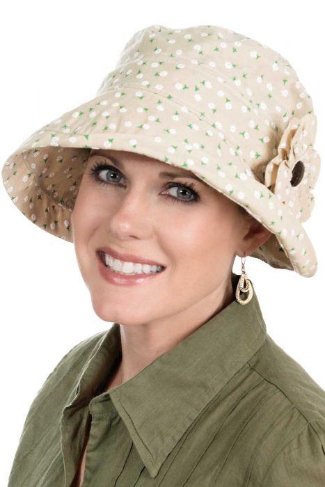 Daisy Cloche Hat