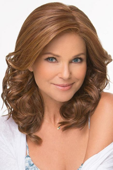 Editor's Choice by Christie Brinkley Wigs - Lace Front, Mono Part Wig