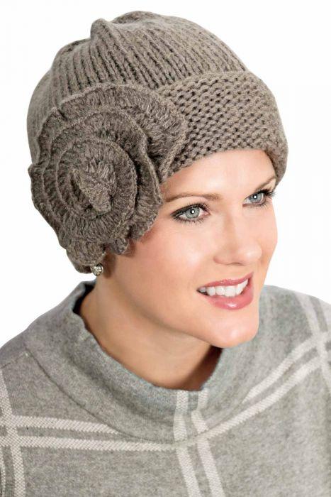 Elise Beanie Cap   Comfy Winter Knit Hat for Women