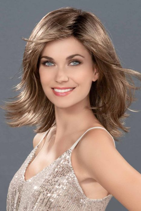 Splendid by Ellen Wille Wigs - Mono Top, Hand Tied, Extended Lace Front Wig