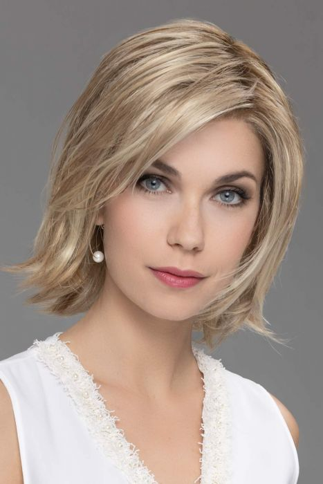 Ultra Top Piece by Ellen Wille Wigs - Human Hair/Heat Friendly Synthetic Blend, Hand Tied, Lace Front Topper