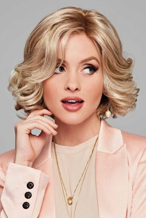 Twirl & Curl by Eva Gabor Wigs - Lace Front, Monofilament Part Wig