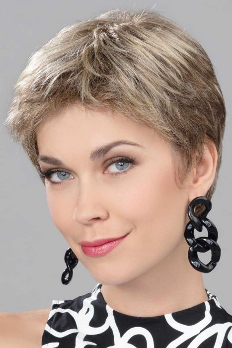 Focus by Ellen Wille Wigs - Human/Heat Friendly Synthetic Hair Blend, Lace Front, Monofilament Top Wig