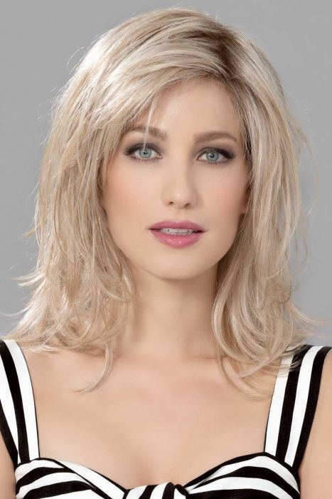 Interest by Ellen Wille Wigs - Human/Heat Friendly Synthetic Hair Blend, Lace Front, Monofilament Part Wig