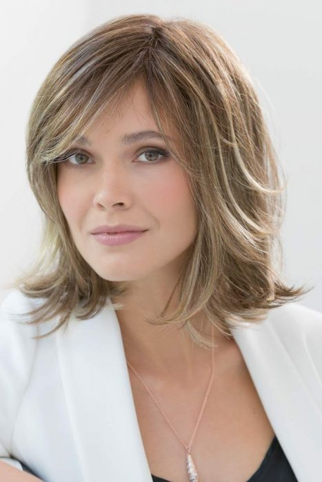 Petite/Average Spirit II by Ellen Wille Wigs - Human/Heat Friendly Synthetic Hair Blend, Hand Tied, Double Monofilament, Lace Front Wig