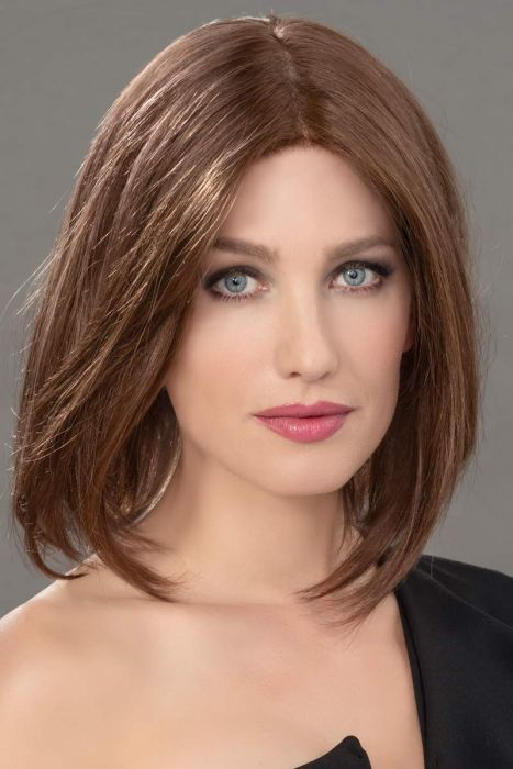 Famous Topper by Ellen Wille Wigs - Remy Human Hair, Lace Front, Monofilament Topper