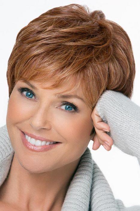 Fan Favorite by Christie Brinkley Wigs - Monofilament Crown Wig