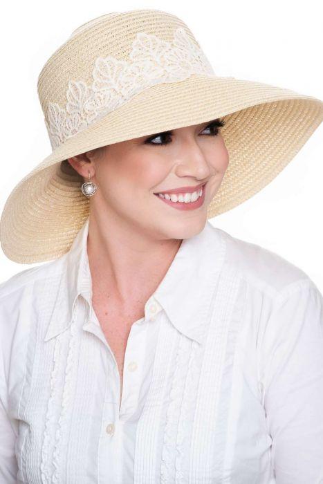 Farah Lace Sun Hat | Spring & Summer Hats for Women