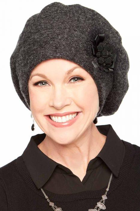 Fiona Ribbon Slouchy Cap & Beret | Womens Slouch Caps