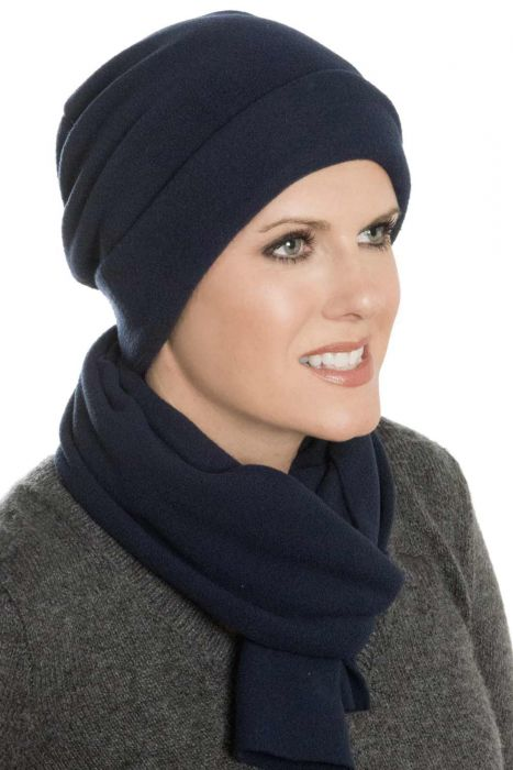Fleece Caley Hat and Scarf Set