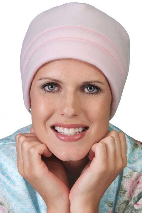Fleece Night Beanie Sleeping Cap | Warm Sleep Hat for Women