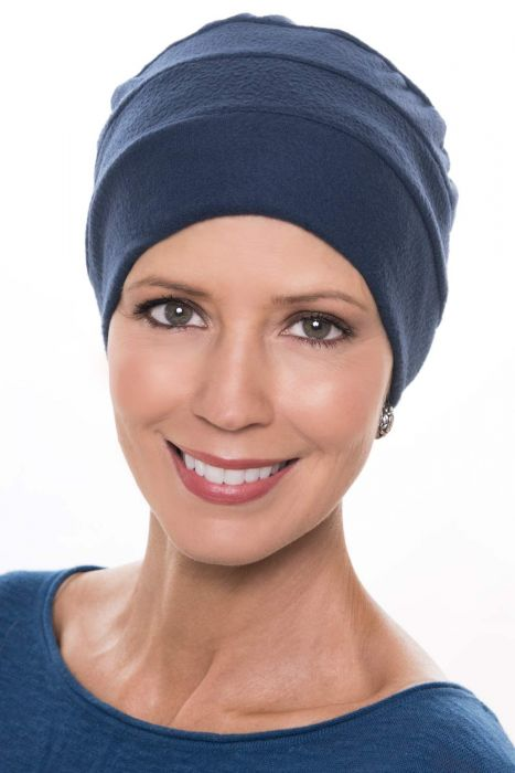 Microfleece 3 Seam Turban - Fall and Winter Head Covering for Women