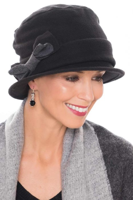 Fleece Victoria Cloche Hat | Fall & Winter Hats for Women |