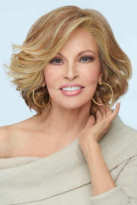 Flirt Alert by Raquel Welch Wigs - Lace Front, Monofilament Part Wig
