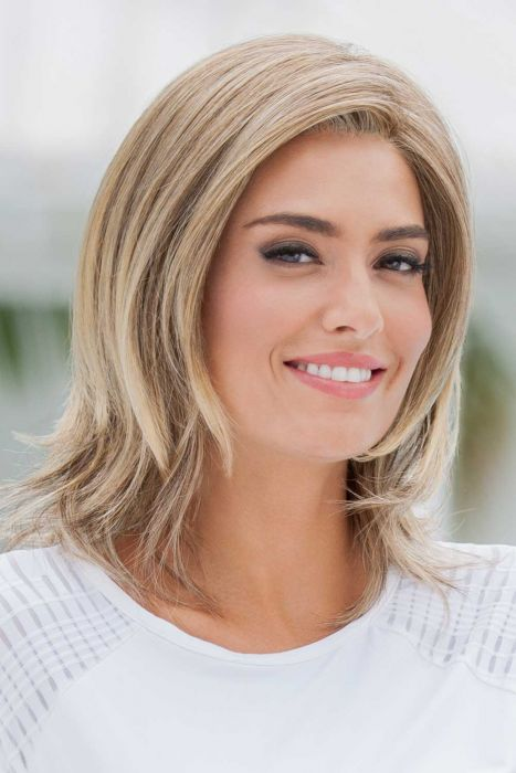 Soft and Subtle Average Large by Eva Gabor Wigs - Lace Front, Monofilament Part Wig