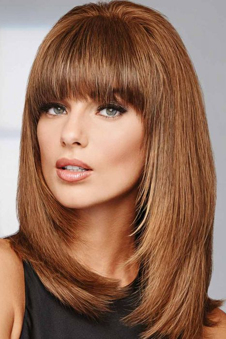 Game Changer Top Piece by Raquel Welch Wigs - Human Hair, Monofilament Hairpiece
