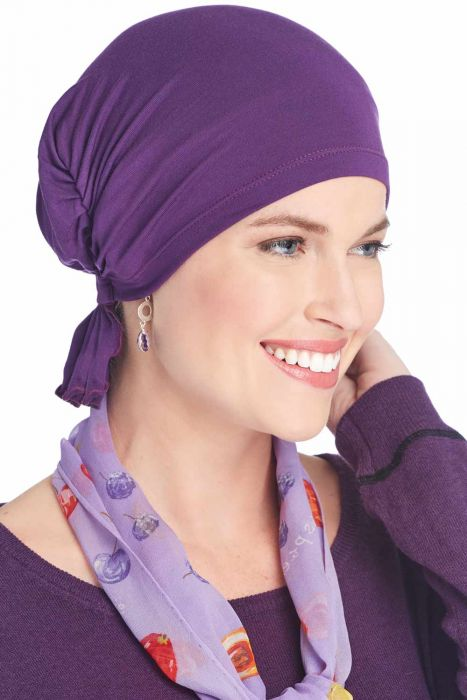 Bamboo Viscose Scarf Beanie | Cardani Beanie for Chemo or Hair Loss