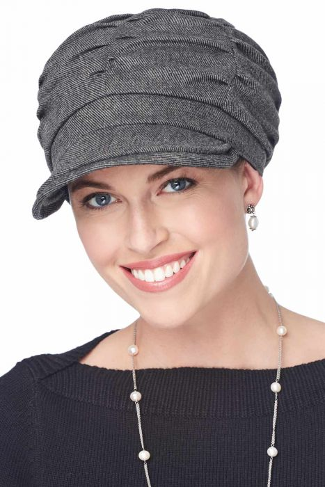 Gathered Newsboy Hat | Fall & Winter Hats for Women