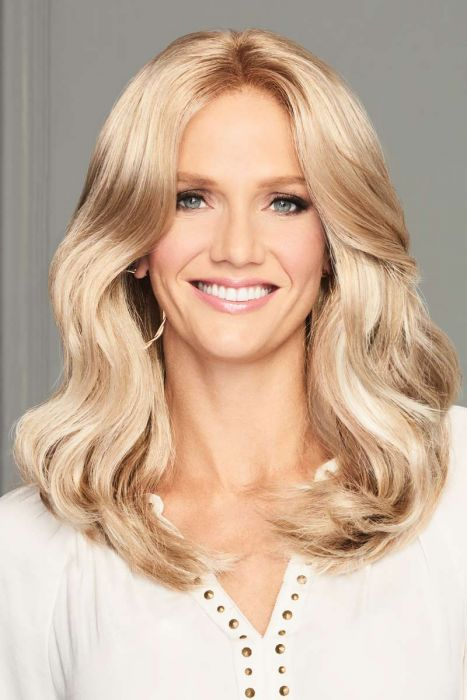 Center of Attention by Eva Gabor Wigs - Lace Front, Monofilament Part Wigs