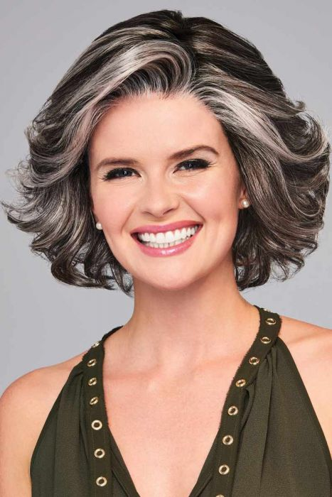 High Impact Average by Eva Gabor Wigs - Lace Front, Monofilament Part Wig