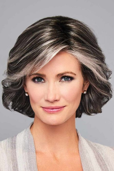 Modern Motif by Eva Gabor Wigs - Lace Front, Monofilament Part Wig