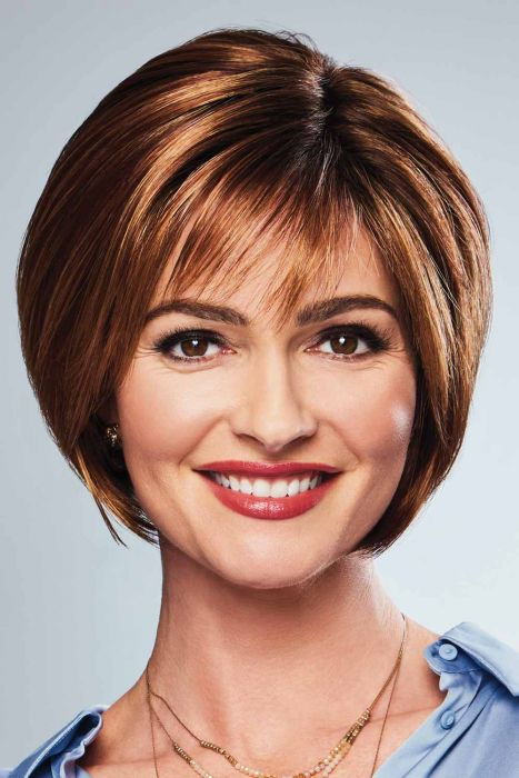 Chic Shot by Eva Gabor Wigs - Hand Tied Top, Lace Front, Monofilament Top Wig