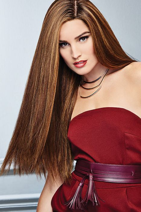 Glamour and More by Raquel Welch Wigs - Remy Human Hair, Hand Tied, Lace Front, Mono Top Wig