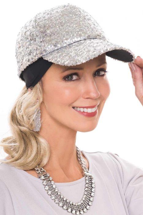 Glitter Glam Baseball Cap   Baseball Caps for Women