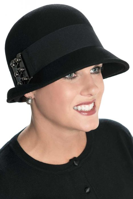 Gracie Cloche Hat - Dressy Vintage Winter Hat for Woman