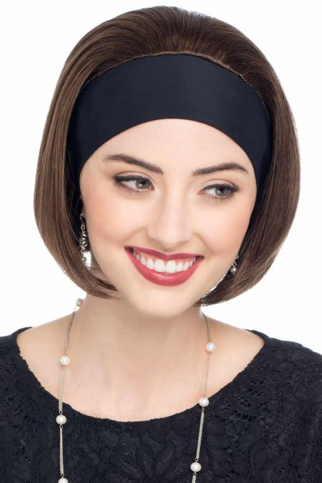 Hannah by Cardani | Bob Cut Headband Wig