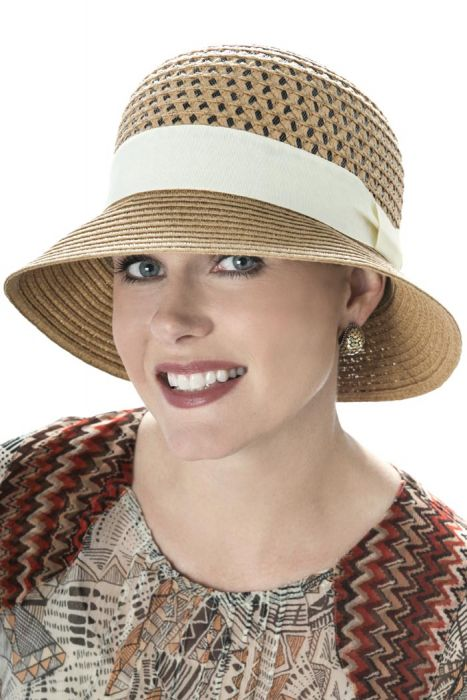 Open Weave Bucket Hat